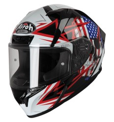 Casco integrale Airoh Valor grafica Sam Black Gloss