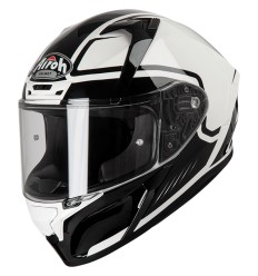 Casco integrale Airoh Valor grafica Marshall White Gloss