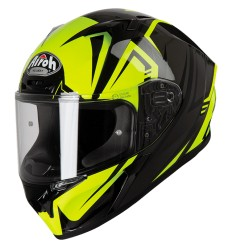 Casco integrale Airoh Valor grafica Raptor Yellow Gloss