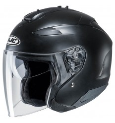 Casco Jet HJC IS-33 II Semi Flat titanio