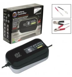 Carica batterie e mantenitore BC multifunzione Smart 900 kit P