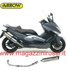 Marmitta Arrow Race-Tech Titanium Carby Yamaha T-Max 500 08-11