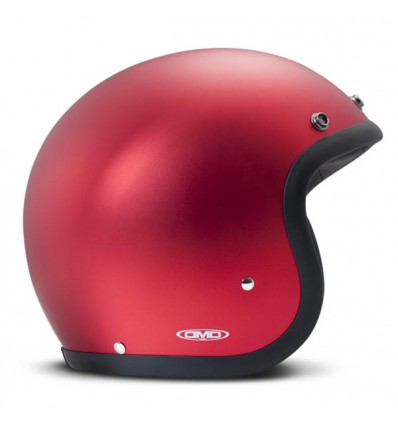 Casco DMD Helmets serie Vintage grafica Metallic Red