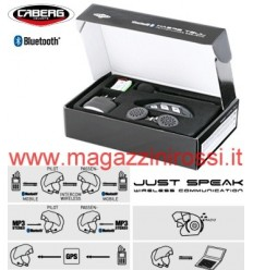 Bluetooth kit Caberg Just Speak solo per caschi Sintesi, Jet Sintesi e HyperX
