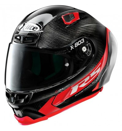 Casco X-Lite X-803 RS Ultra Carbon Hot Lap rosso