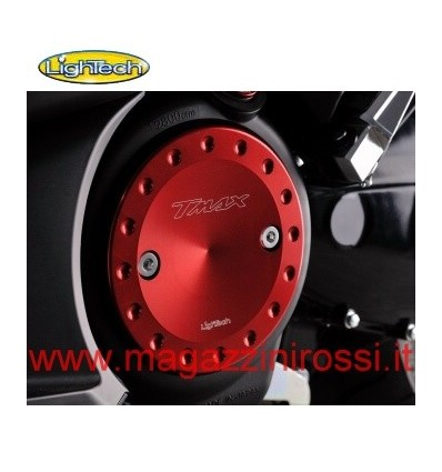 Carterini motore Lightech per Yamaha T-Max 500 e T-Max 530 in ergal rossi