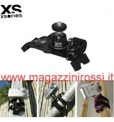 Supporto universale XSories Action Mount per foto e videocamere nero