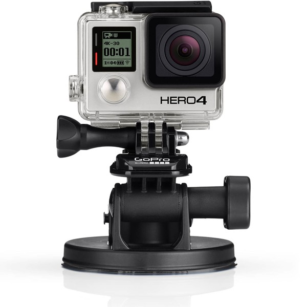 Kit di supporto a ventosa gopro con sgancio rapido per for 2 box auto con kit di appartamenti